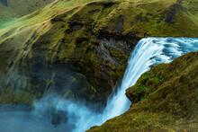 View Of Skogafoss Waterfall Fa...