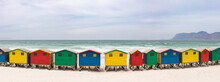 Colorful Beach Houses On Muize...