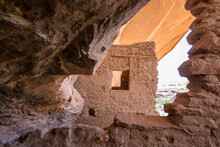 Walls Of Anasazi Dwelling