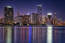 View Of Downtown With Biscayne...