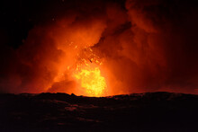 Exploding Lava In Hawaii Volca...