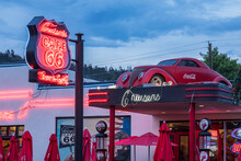 Exterior View Of Cruiser's Route 66 Cafe