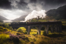 Jacobite Steam Train Passing O...