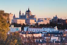 Royal Palace In Madrid, Comunidad De Madrid, Spain