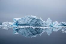Large Iceberg Drifting In Wate...