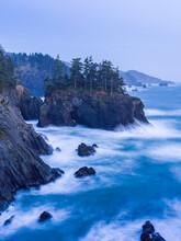 Scenic View Of Sea In Southern Oregon Coast