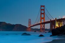 View Of Golden Gate Bridge, Sa...