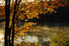 Scenic View Of Northwood Lake