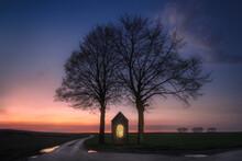 Countryside Chapel In Belgium