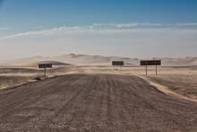 Road Signs At Skeleton Coast H...