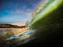 View Of Wave Splashing In Sea ...