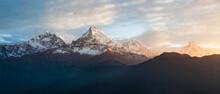 Scenic View Of Annapurna Base ...
