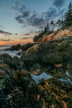 View Of Bass Harbor Head Light...