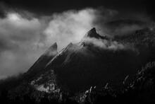 View Of Boulder Flatirons Agai...