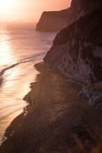 View Of Durdle Door Beach And ...