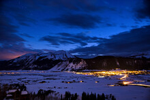 Scenic View Of Crested Butte A...