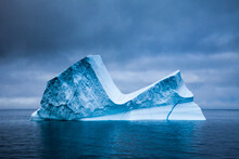 View Of Iceberg Floating In Sea