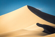 Ibex Sand Dunes In Death Valley National Park