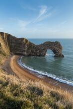 View Of Durdle Door In Dorset