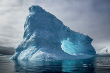 View Of Iceberg Floating In Wa...