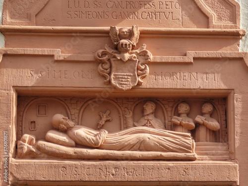 Cuadros en Lienzo St. Simeons death