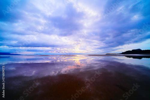 Fototapeta 美しい雲と海