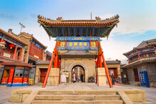 Tianhou Palace Is A Famous Taoist Temple In Tianjin, China