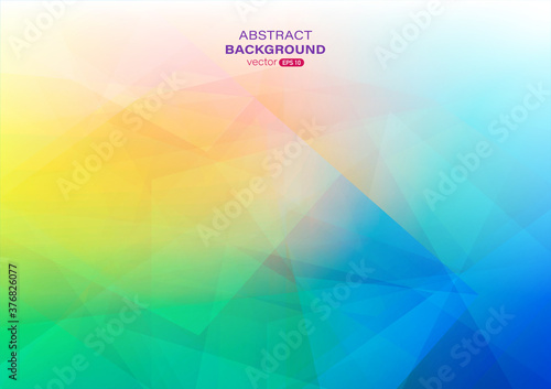Colorful abstract background with geometric shape