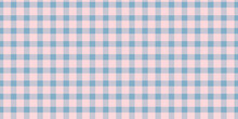 Blue And Pink Checkered Patter...