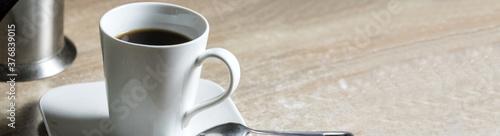 Fotografía Nahaufnahme von einer Kaffee Tasse