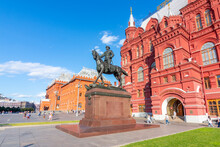 Monument To Marshal Zhukov At ...