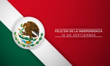 Mexico Independence Day Background. Vector Illustration.