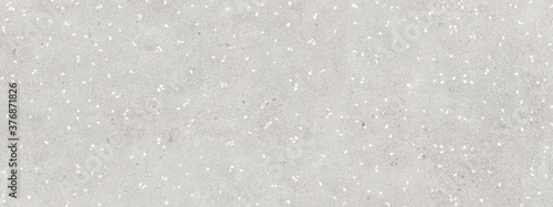 Obraz na plátně Grey mosaic stones background, terrazzo marble texture
