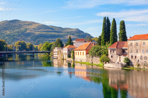 Trebinje town located in the Republika Srpska in Bosnia and Herzegovina Wallpaper Mural