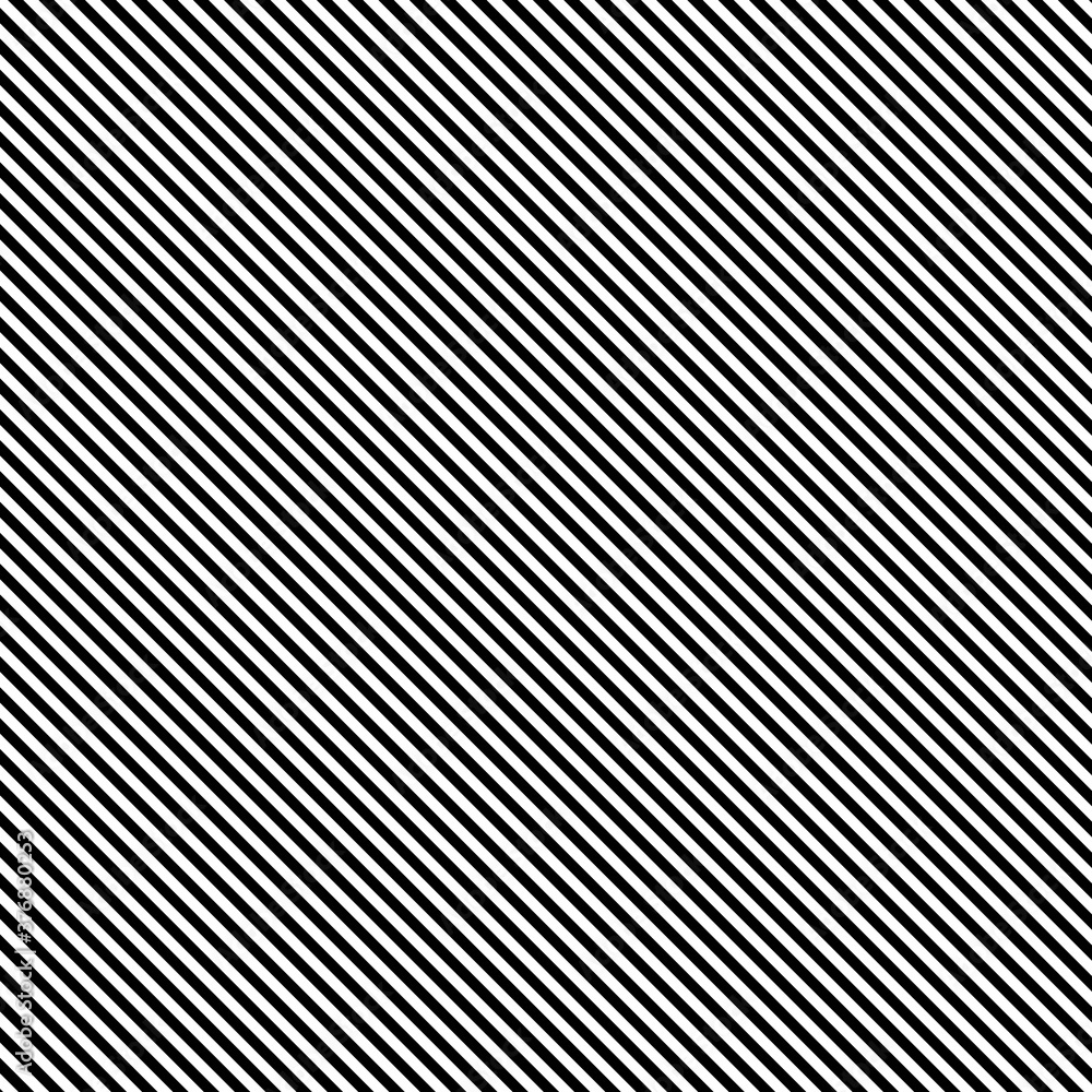 Fototapeta Black diagonal lines pattern, vector illustration - obraz na płótnie