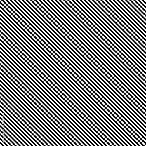 Obraz Black diagonal lines pattern, vector illustration - fototapety do salonu