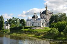 Annunciation Cathedral (Blagoveshchensky Cathedral, 1900, Eclecticism). Smolensk City, Smolensk Oblast, Russia.