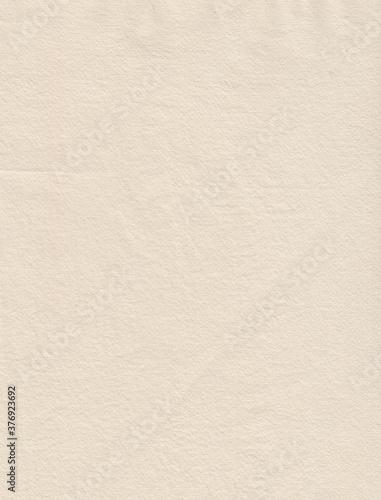 Fototapeta Weiszes handgeschöpftes Büttenpapier als Hintergrund