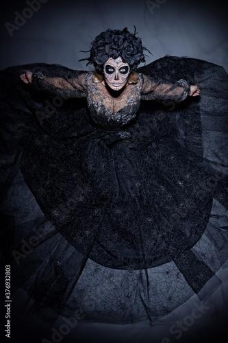 glamorous black lady