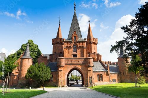 Fototapeta Czech castle in Hradec nad Moravici