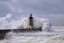 Storm At The Old Lighthouse