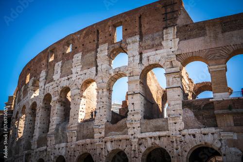 The Roman Colosseum (Coloseum) in Rome Fototapet