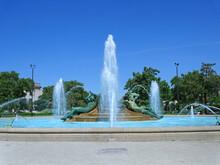 Swann Memorial Fountain In A P...