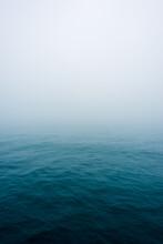 View Of Ocean During Fog