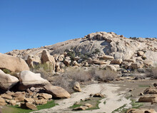 Basin At Barker Dam