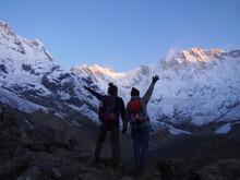 Mountain Climbers Raise Their ...
