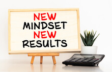 New Mindset New Results Words ...