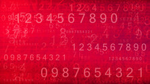 Number Text Pattern Texture Background Wallpaper