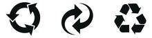 Recycling ,arrows Icon Set, Ro...