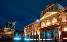 Vista Nocturna Centro Ciudad De México